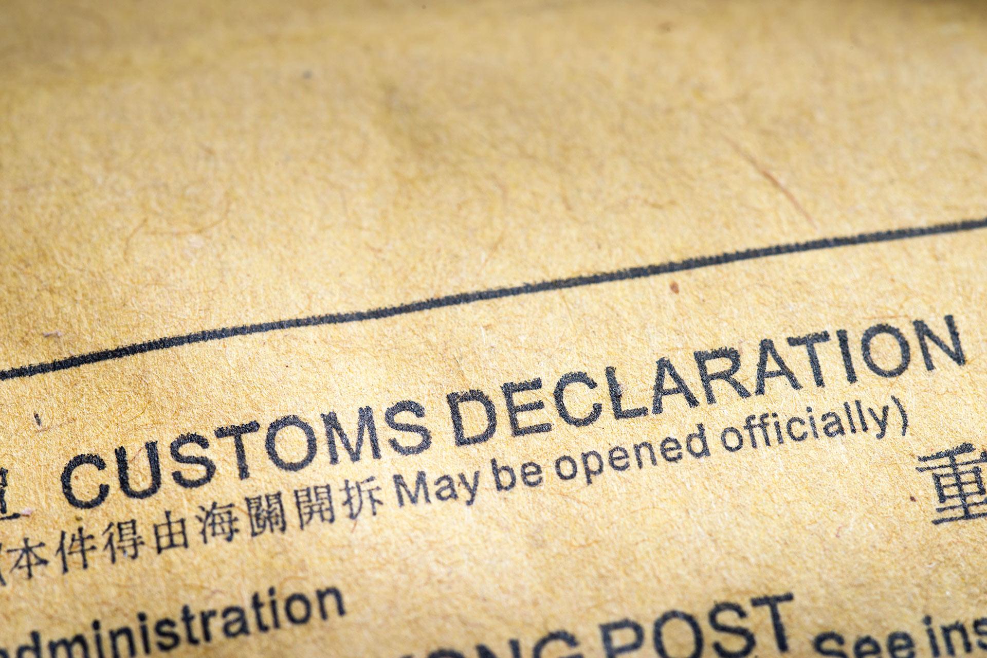Customs declarations kgh customs altavistaventures Images